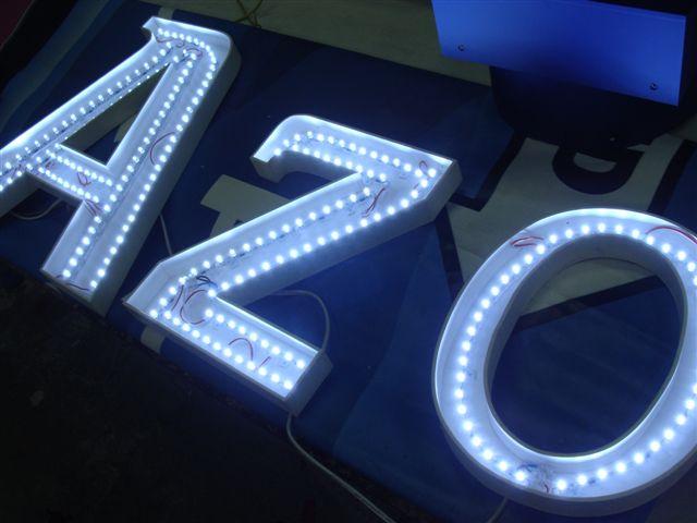 Как сделать светящиеся буквы своими руками из светодиодов 32