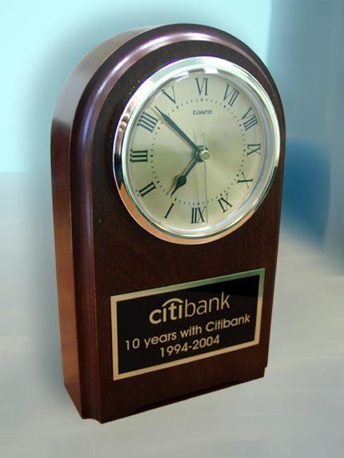 Подарок на юбилей часы 4